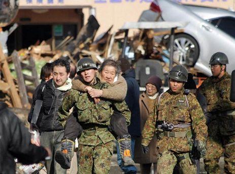 自衛官東日本大震災