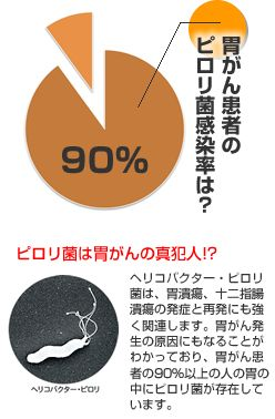 ピロリ菌胃がんリスク