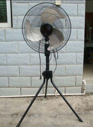 蚊対策に扇風機