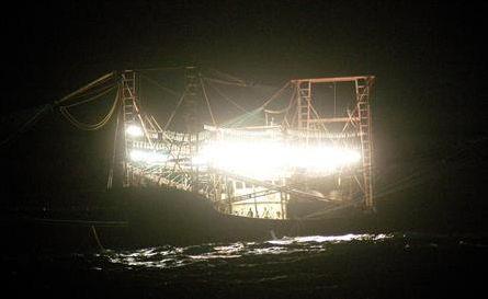 虎網漁法船
