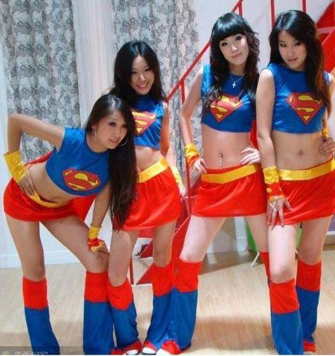 ハロウィンコスプレ_女スーパーマン