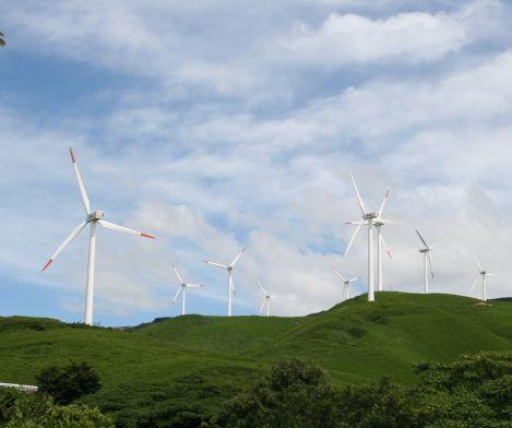 阿蘇俵山風力発電