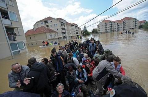 セルビア大洪水1