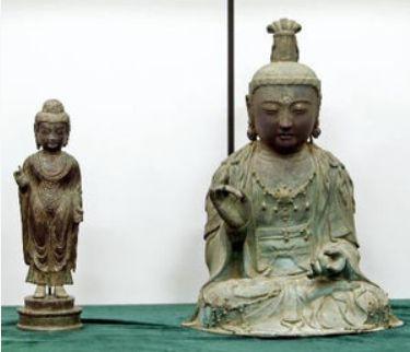 韓国に盗まれた仏像2012
