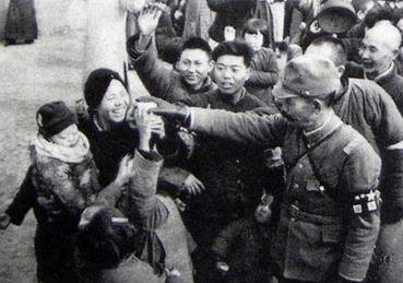 南京陥落の時の南京市民の様子3
