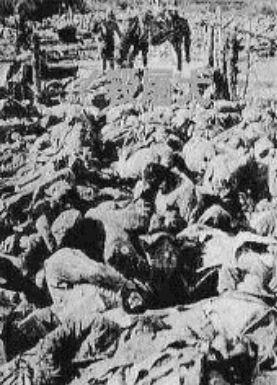 南京陥落の時の戦死体