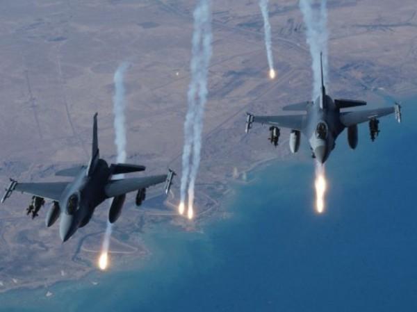 イスラム国空爆1