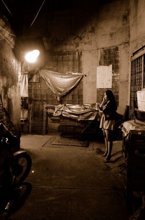 街角の売春婦