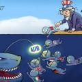 AIIB風刺画