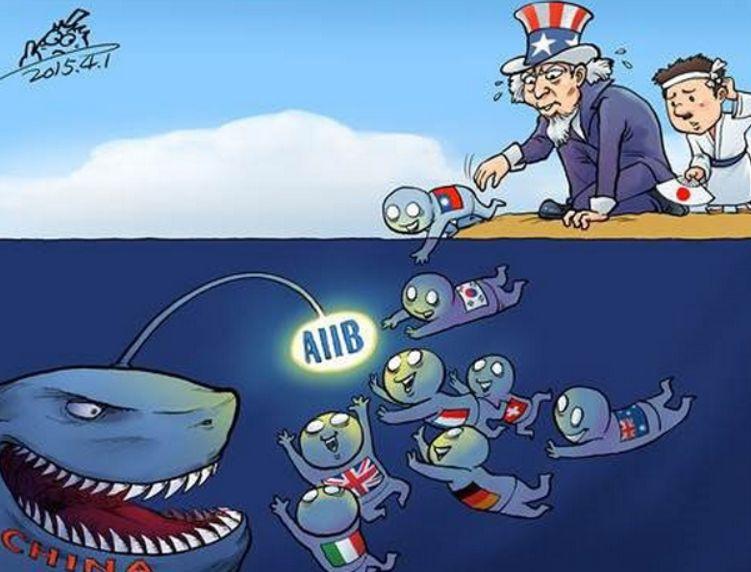 アジアインフラ投資銀行(AIIB)、日本の参加反対!