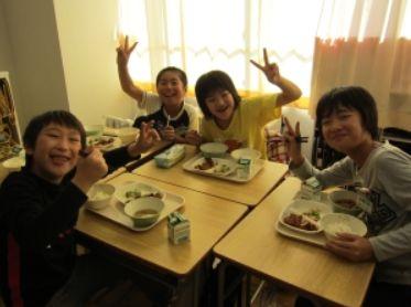 新潟県三条市の給食2