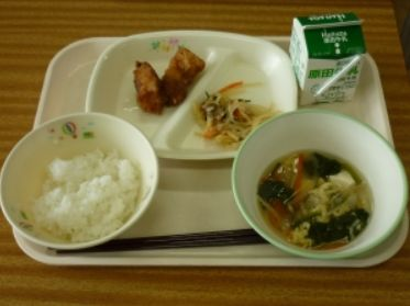 新潟県三条市の給食1