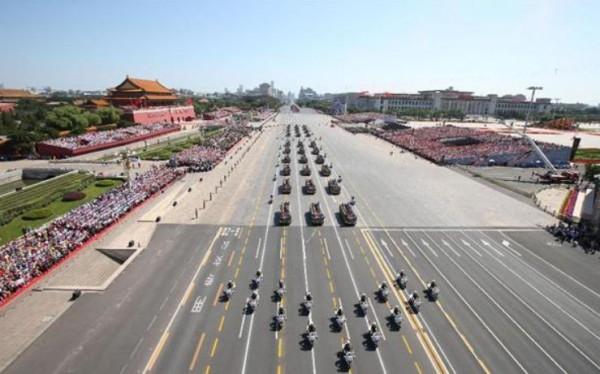 抗日戦争勝利70年軍事パレード画像2