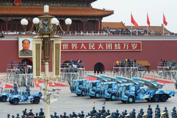 中国軍軍事パレード2
