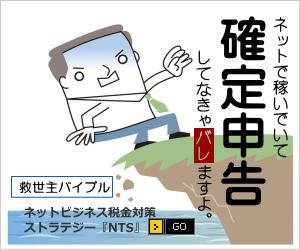ネットビジネス・アフィリ用の確定申告マニュアルを購入!