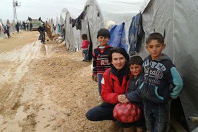 シリア難民支援