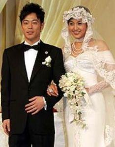 藤原紀香と結婚