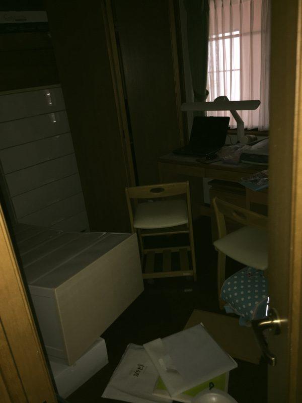 熊本地震被害画像17子供部屋