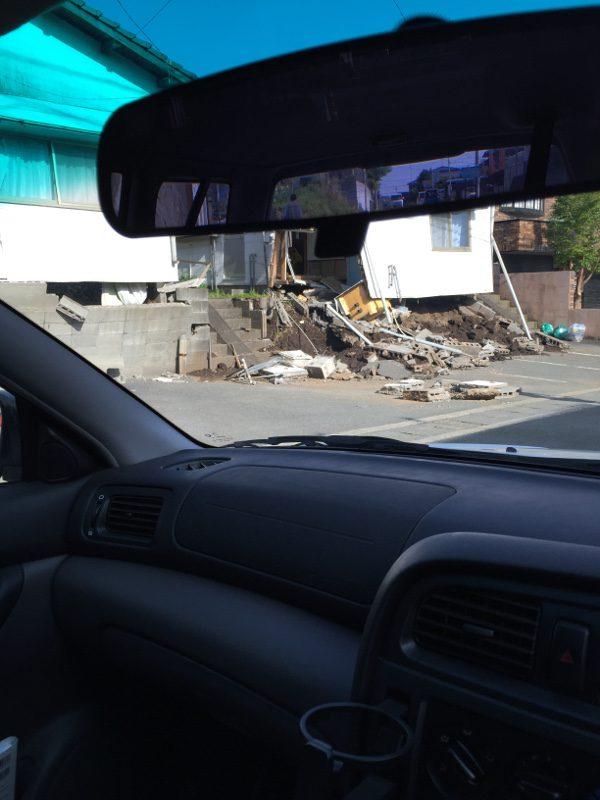 熊本地震益城被害1
