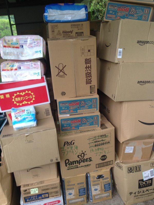 熊本支援物資