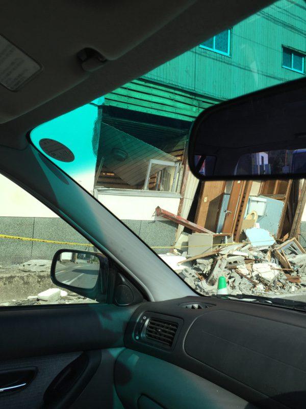 熊本地震益城被害4