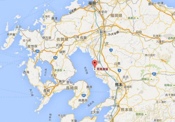 荒尾漁協地図3