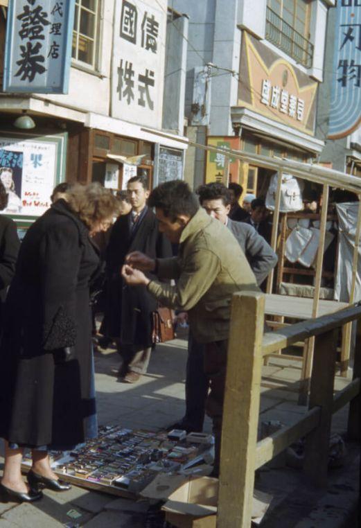 70年前の表参道