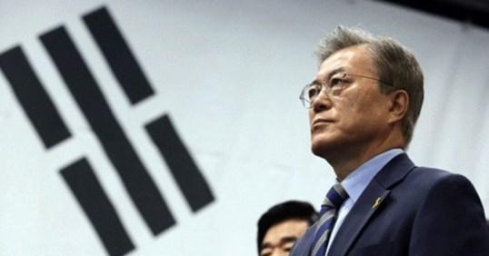 慰安婦合意どうなる?韓国新大統領に文在寅氏。